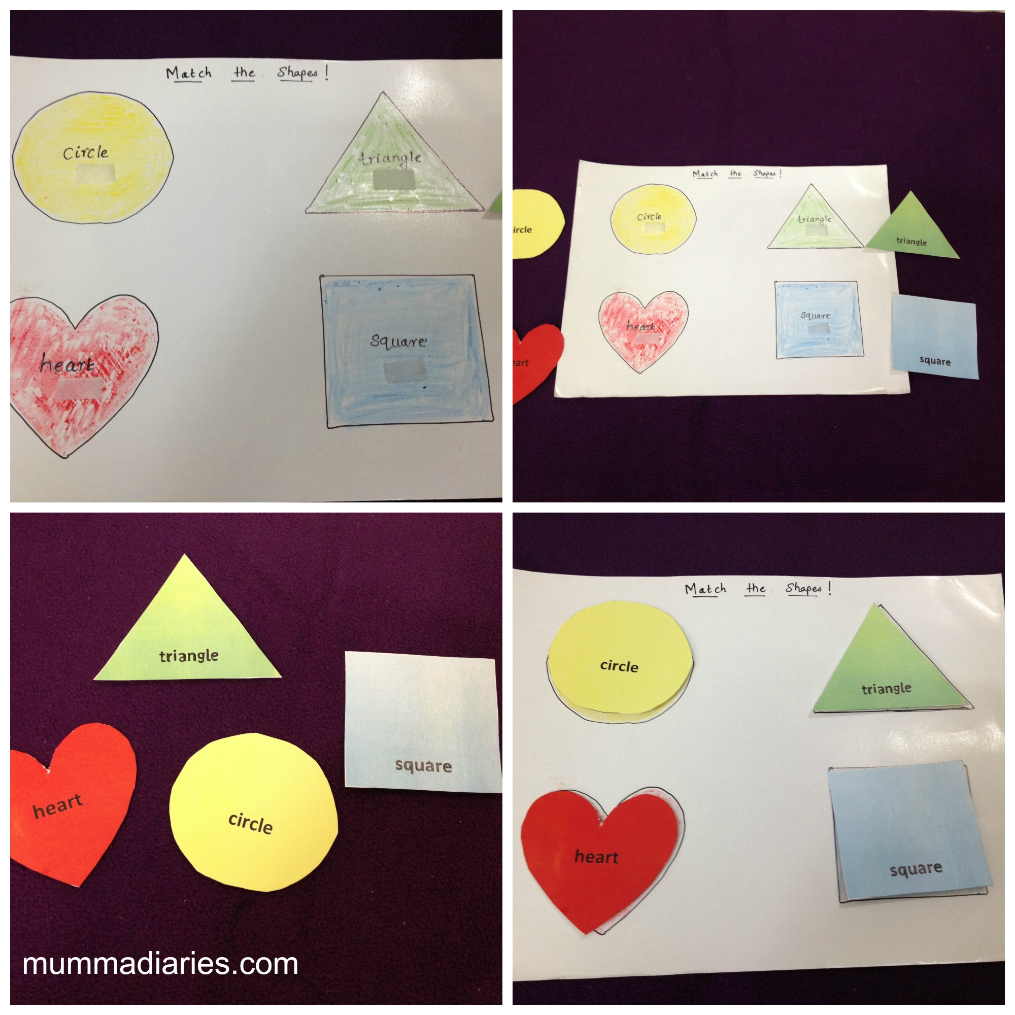 Match the shapes-1