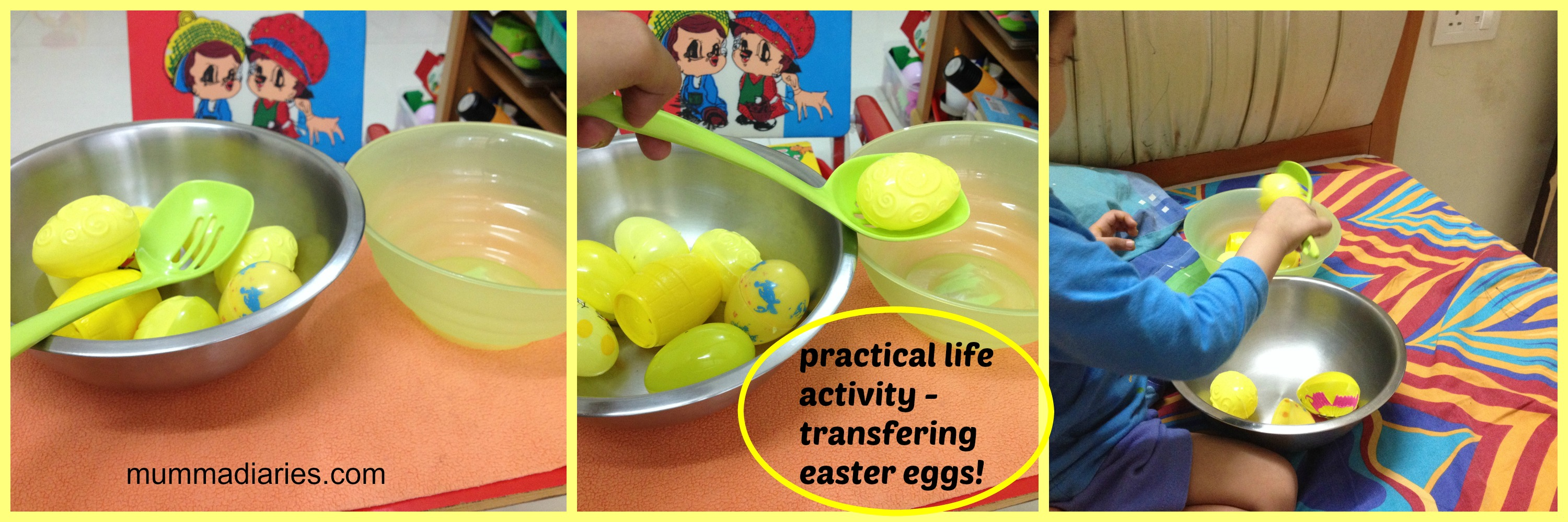 yellow themed toddler activities mumma diaries - Colour Activities For Toddlers