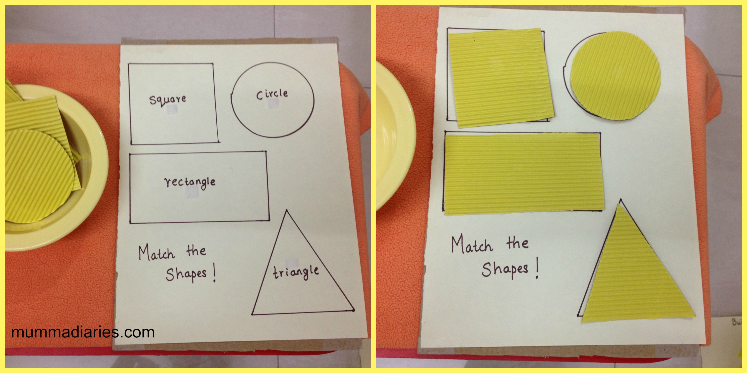 Activities for colors for toddlers - Activity 8 Arts Craft Sticker Activity We Used Yellow Star Shaped Stickers To Stick Onto The Blue Sky Later He Wanted To Match The Moon With An