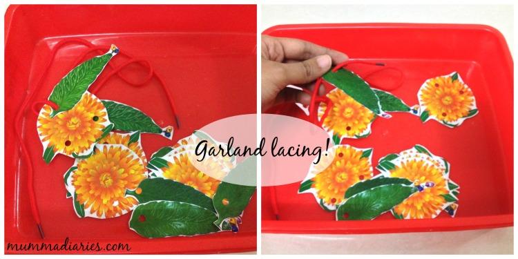 garland lacing