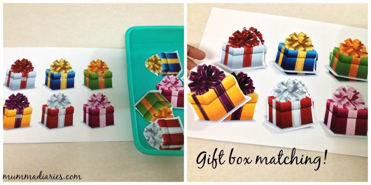gift box match